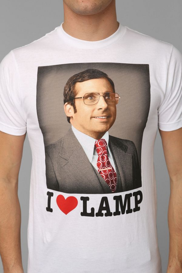 Anchorman I Love Lamp Tee | Urban Outfitters Canada