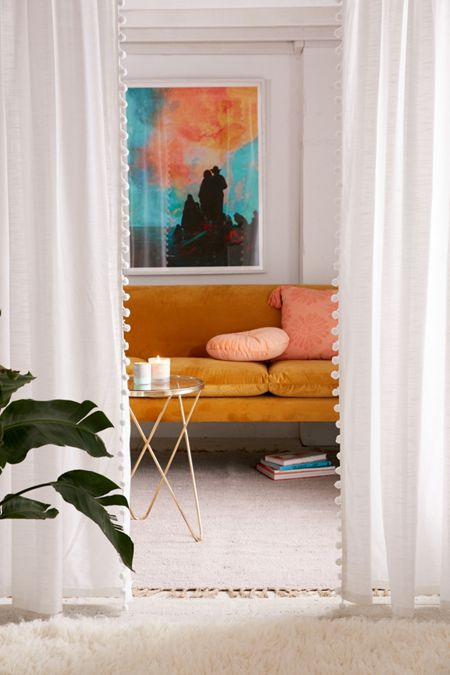 Window Curtains + Window Panels | Urban Outfitters