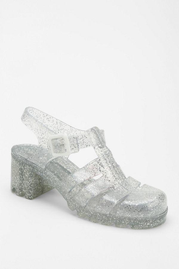 64eb8031f61b JuJu Footwear Babe Jelly Heeled Sandal