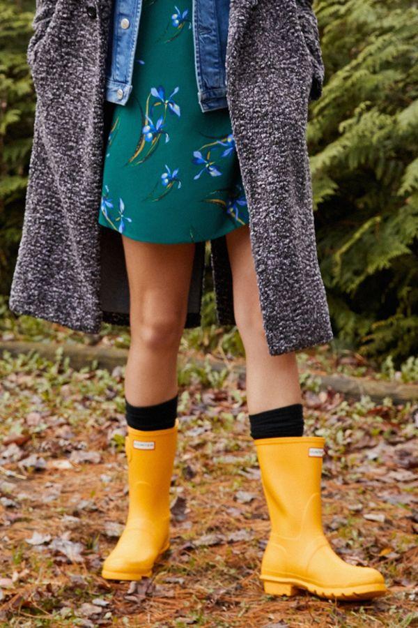 magasin en ligne d07b7 7c27c Bottes de pluie courtes Hunter Original