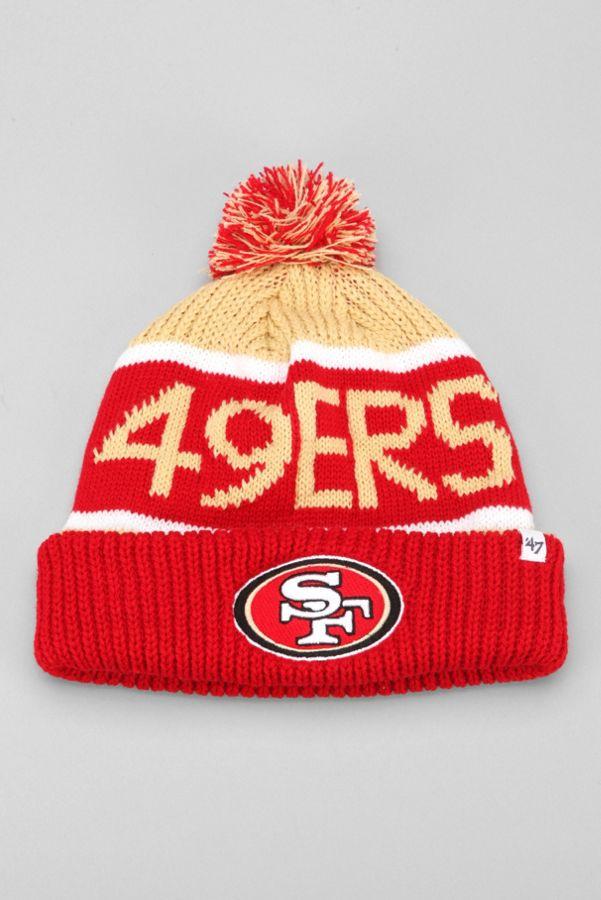 236f9c30d4c 47 Brand Calgary San Francisco 49ers Beanie