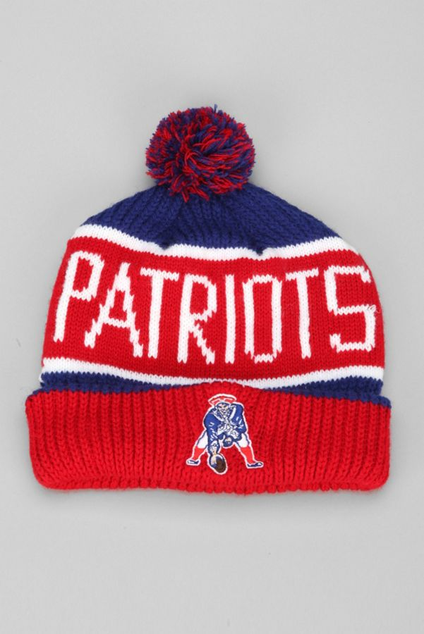 8730bf6f6f6a4f 47 Brand Calgary New England Patriots Beanie | Urban Outfitters