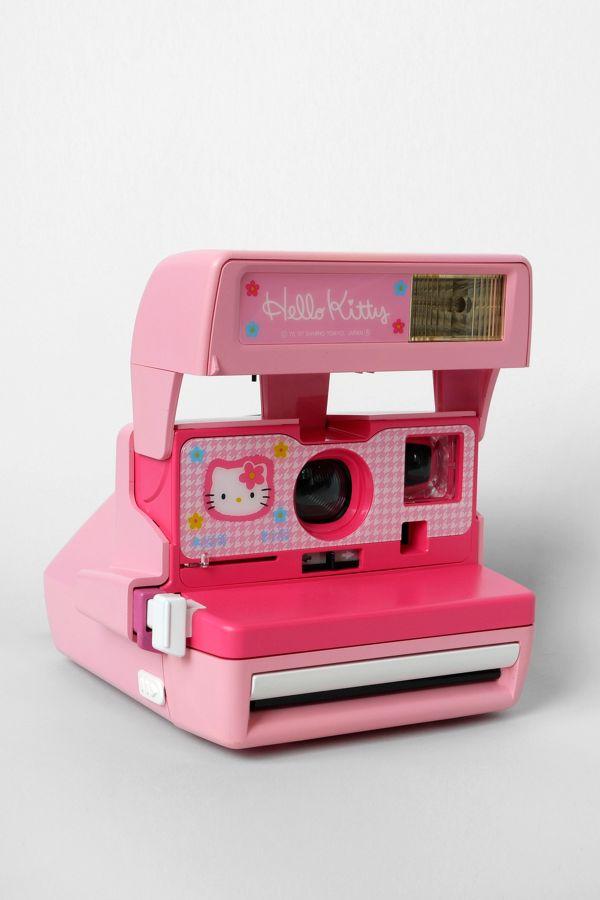 Polaroid 600 Close-Up Hello Kitty Camera By Impossible