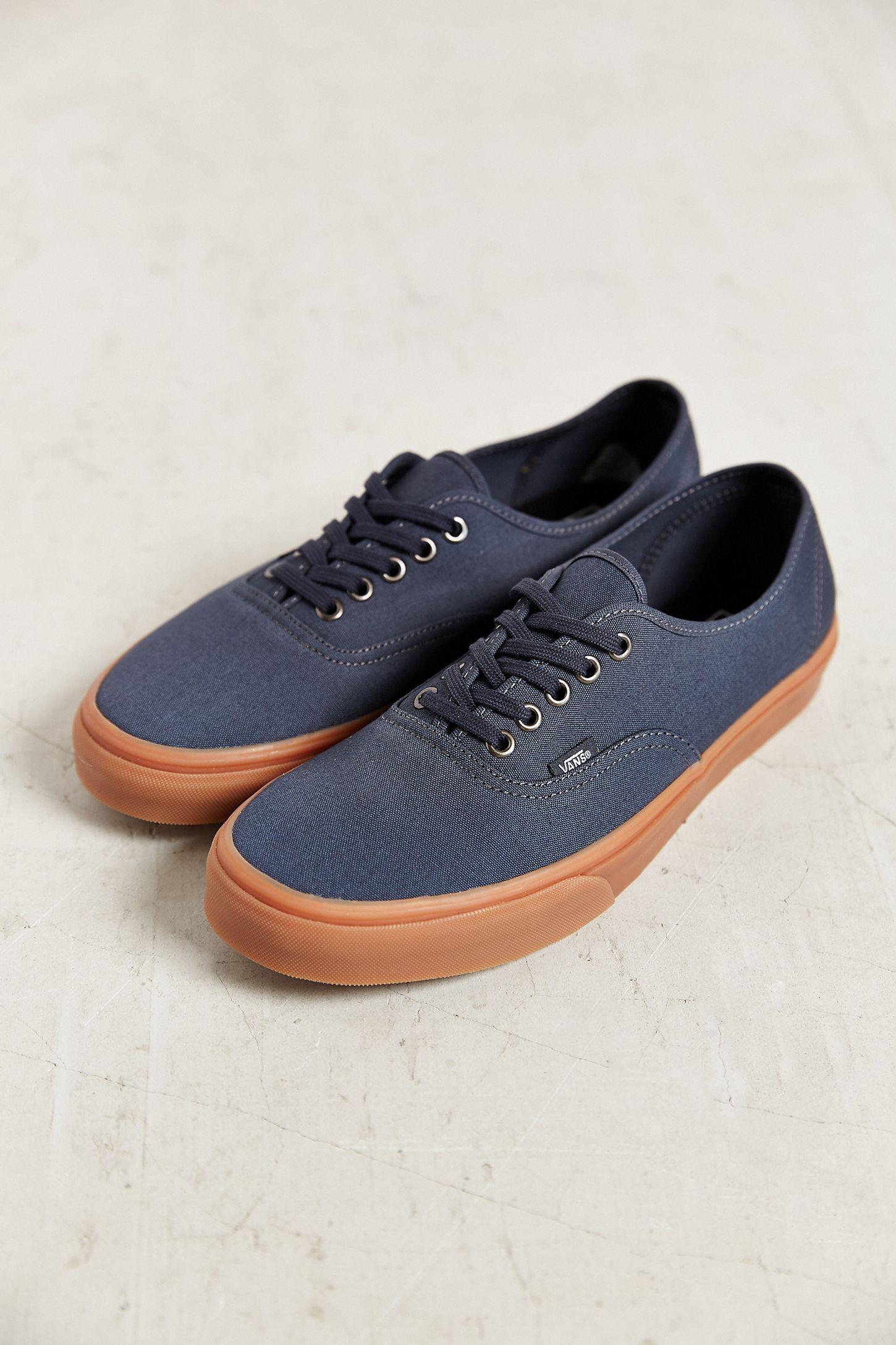 04b1c5e7d7 Vans Authentic Gum Sole Sneaker