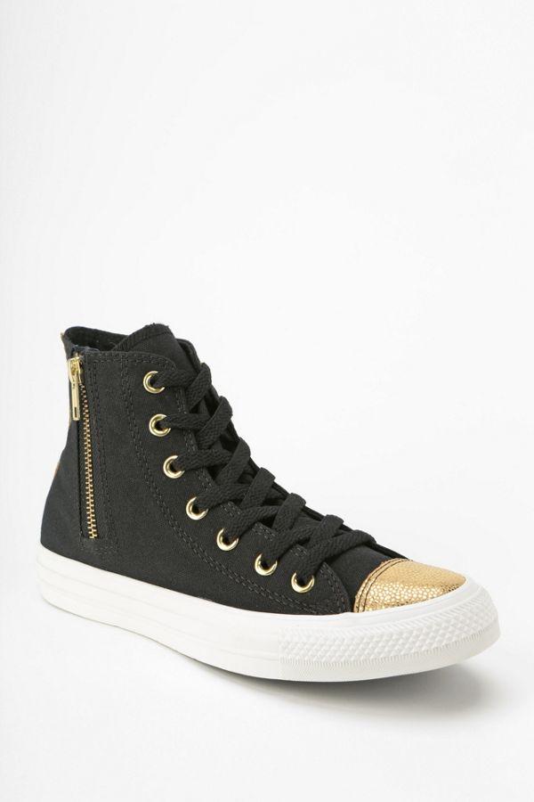 f8c54a606efa Converse Chuck Taylor All Star Glitter Toe Women s High-Top Sneaker ...