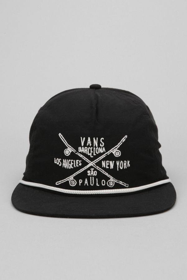 c1c32d33920 Vans Wanderer Skate Team Snapback Hat