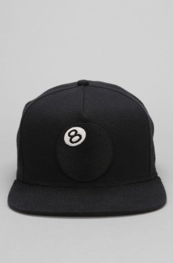 86d8b4842d532d Stussy 8-Ball Jersey Snapback Hat | Urban Outfitters