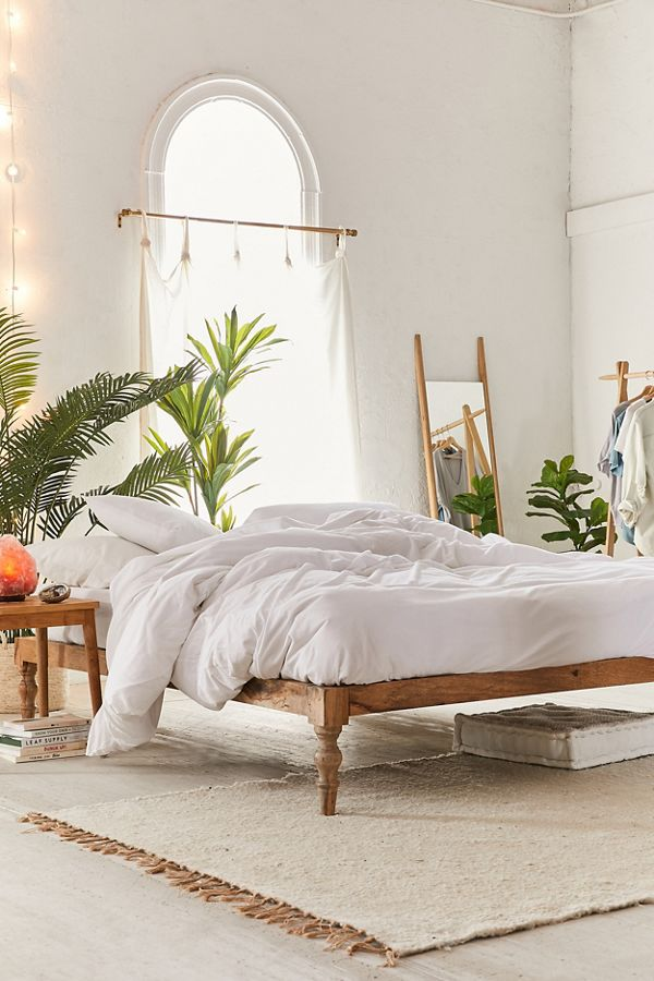 Bohemian Platform Bed | Urban Outfitters on Modern Boho Bed Frame  id=85789