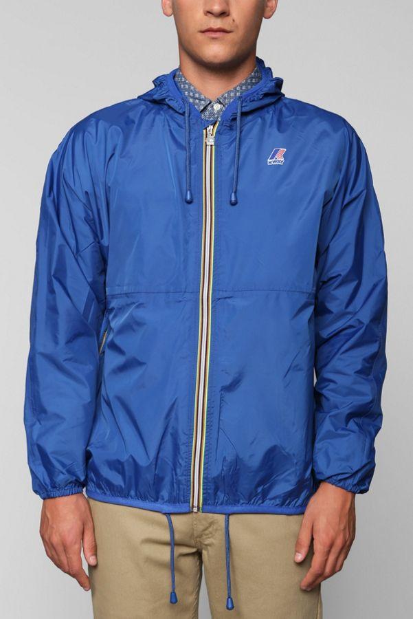premium selection 09b07 65d34 K-Way Claude Windbreaker Jacket | Urban Outfitters