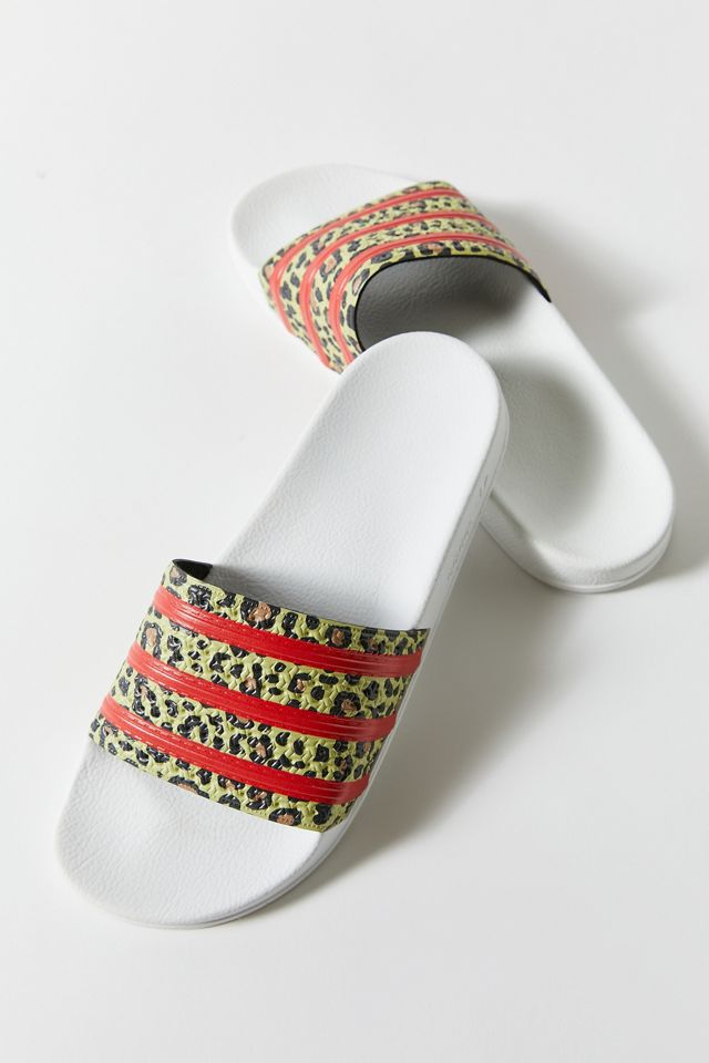 adidas Originals Adilette Slide Sporty Sandal | Urban Outfitters