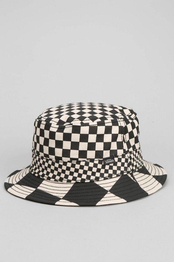 796413f77eec1 Vans Checker Reversible Bucket Hat