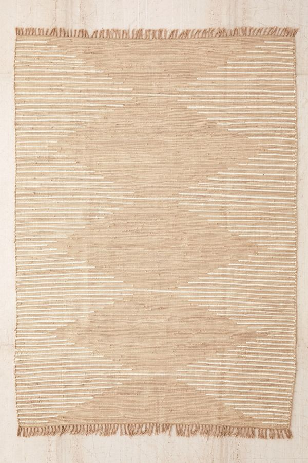 Connected Stripe Rag Rug Urban Outfitters