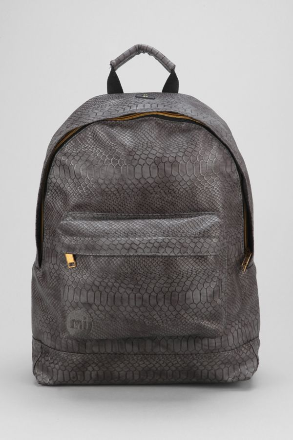 145c85ed0be Mi-Pac Gold Python Backpack | Urban Outfitters