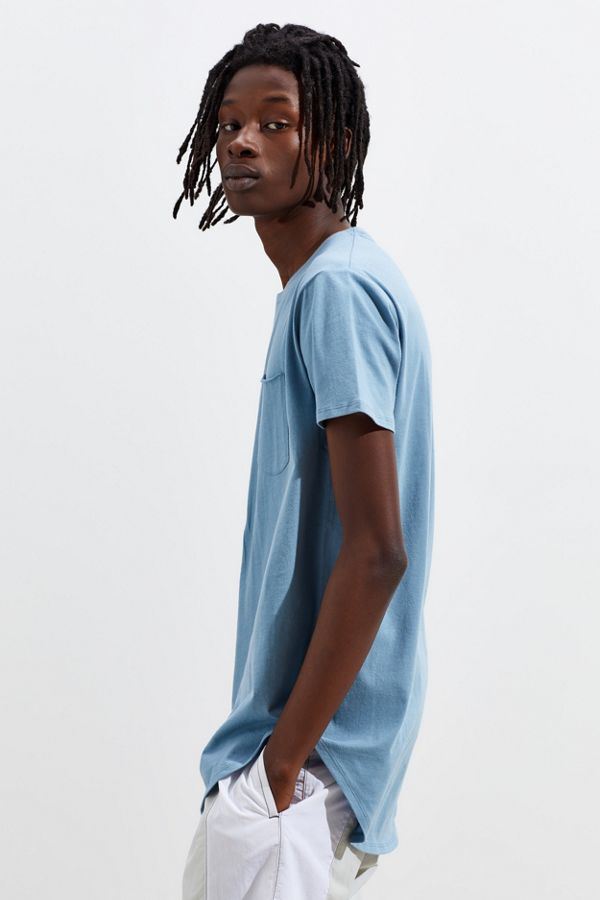 e8bb45a53 UO Scoop Neck Curved Hem Tee | Urban Outfitters