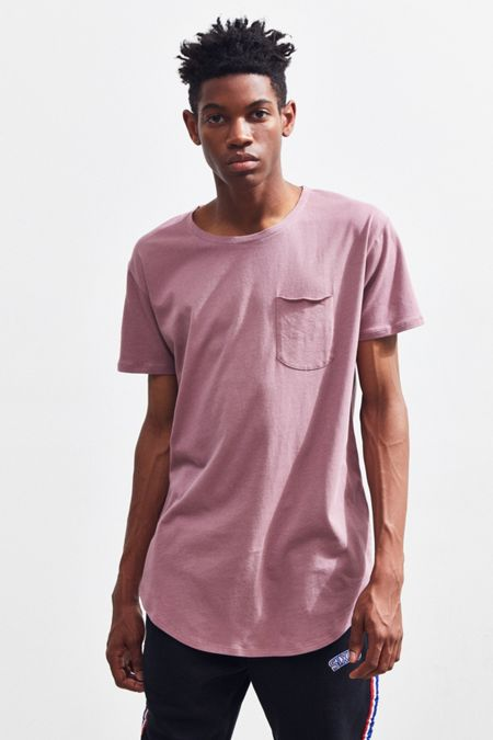 33ea3a87e666 UO Scoop Neck Curved Hem Tee