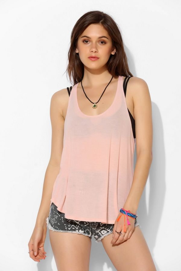2b114f5a05 Project Social T Deep Scoop Tank Top | Urban Outfitters