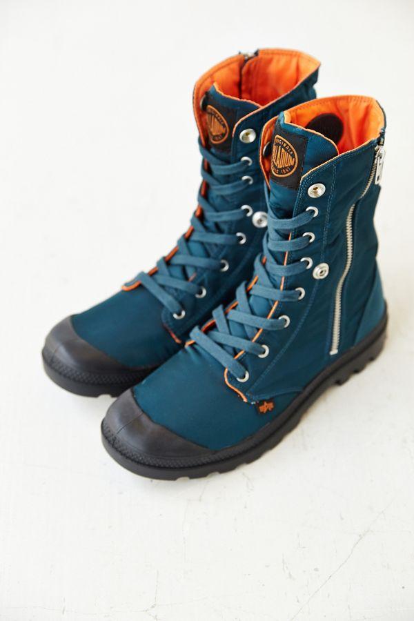 51914bfa0f Palladium X Alpha Industries Baggy Hi Zip Boot