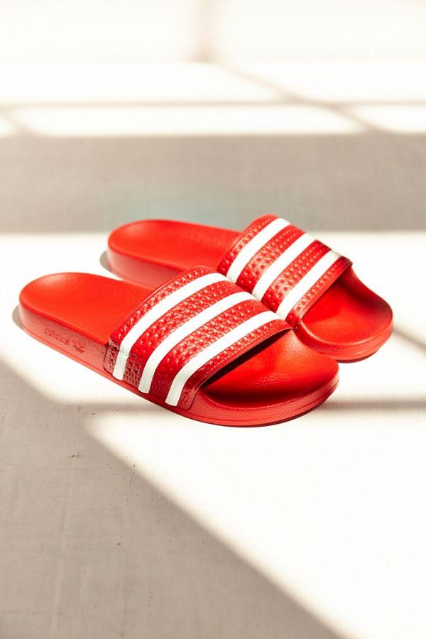 a1ffd0abf34a adidas Originals Adilette Scarlet Slide