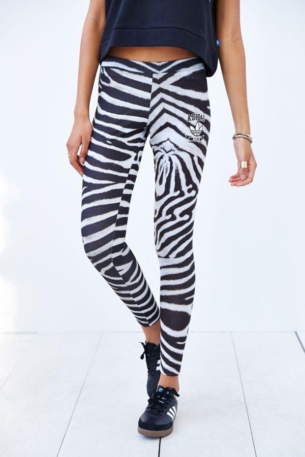 Adidas Originals Originals Adidas Zebra Legging Zebra 5qL4cjAR3