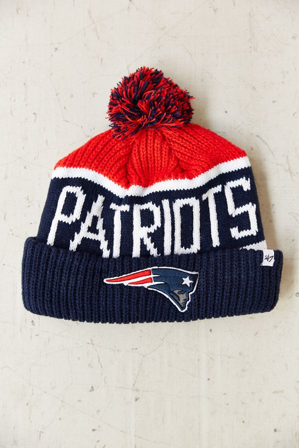 cfd5bf8571f978 47 Brand New England Patriots Calgary Beanie | Urban Outfitters