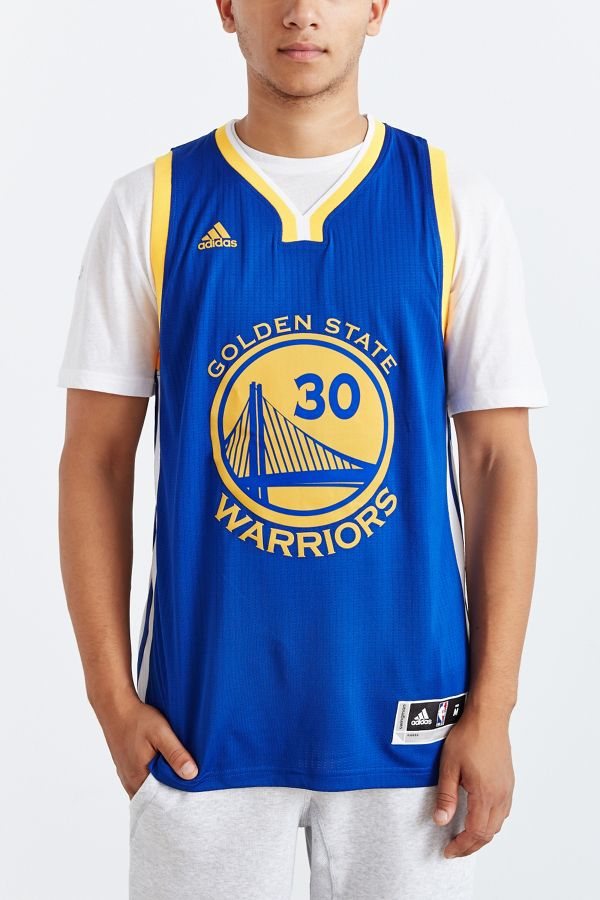 competitive price eec2e 929f6 adidas Golden State Warriors Stephen Curry Away Jersey ...