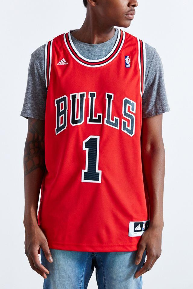 adidas Chicago Bulls Derrick Rose Jersey | Urban Outfitters
