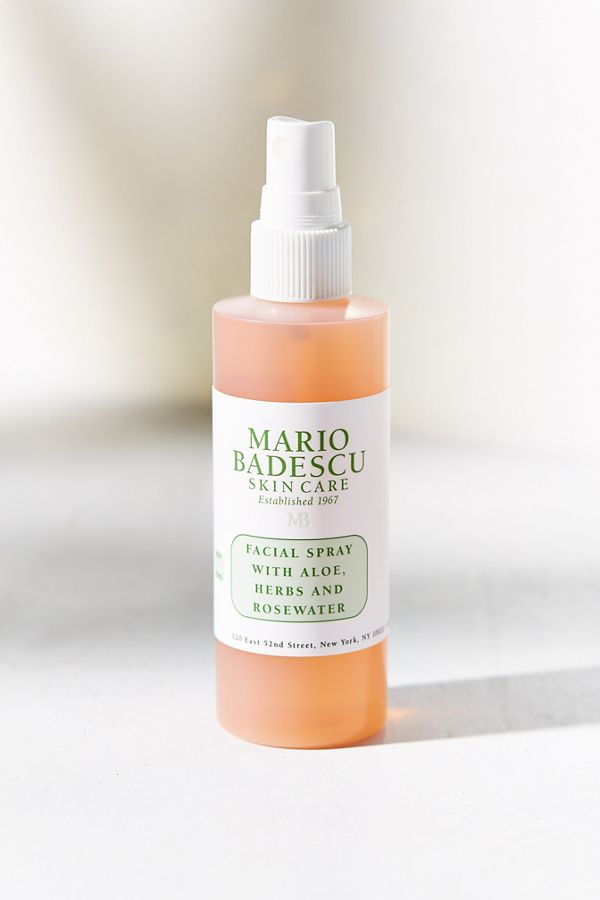 Mario Badescu Facial Spray With Aloe Herbs And Rosewater 4 Oz