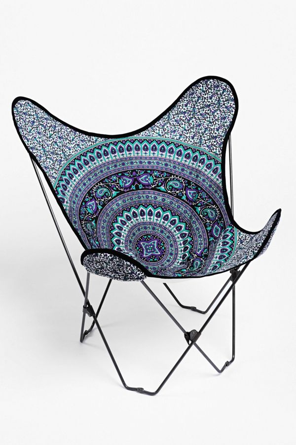 Marvelous Magical Thinking Medallion Butterfly Chair Cover Machost Co Dining Chair Design Ideas Machostcouk