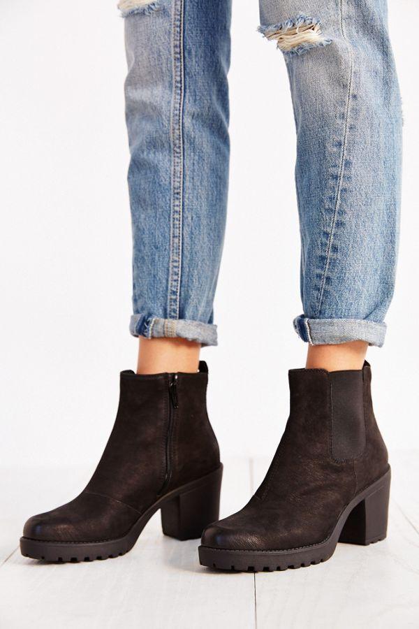 2239854081ac Vagabond Shoemakers Grace Platform Leather Ankle Boot