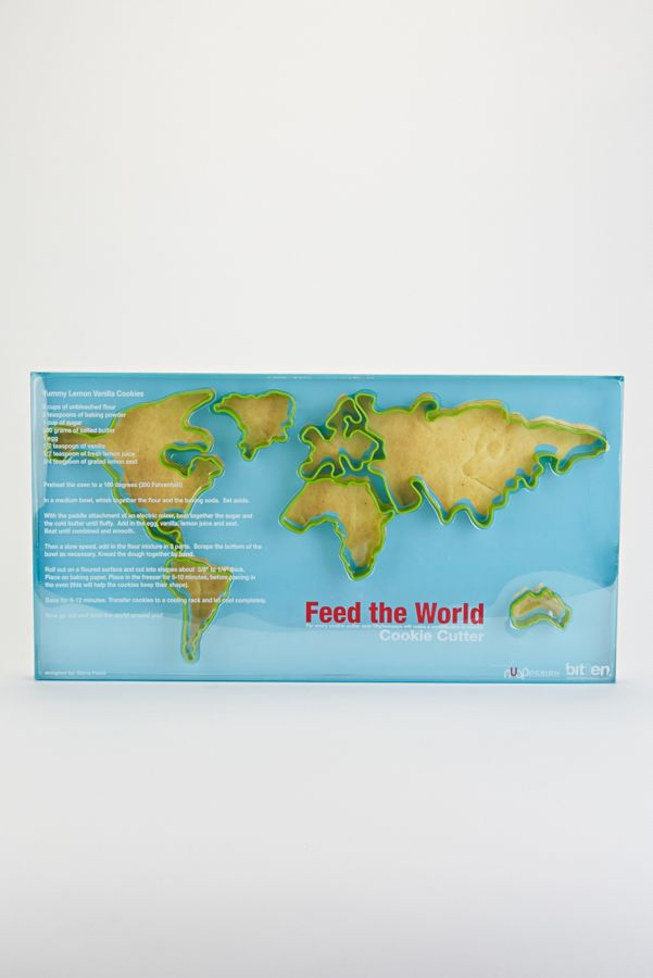 World Map Cookie Cutter Set | Urban Outers on