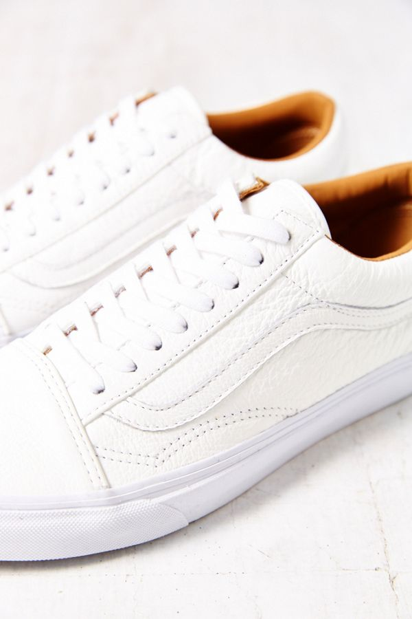 Vans Old Skool Premium Leather Low Top Women's Sneaker