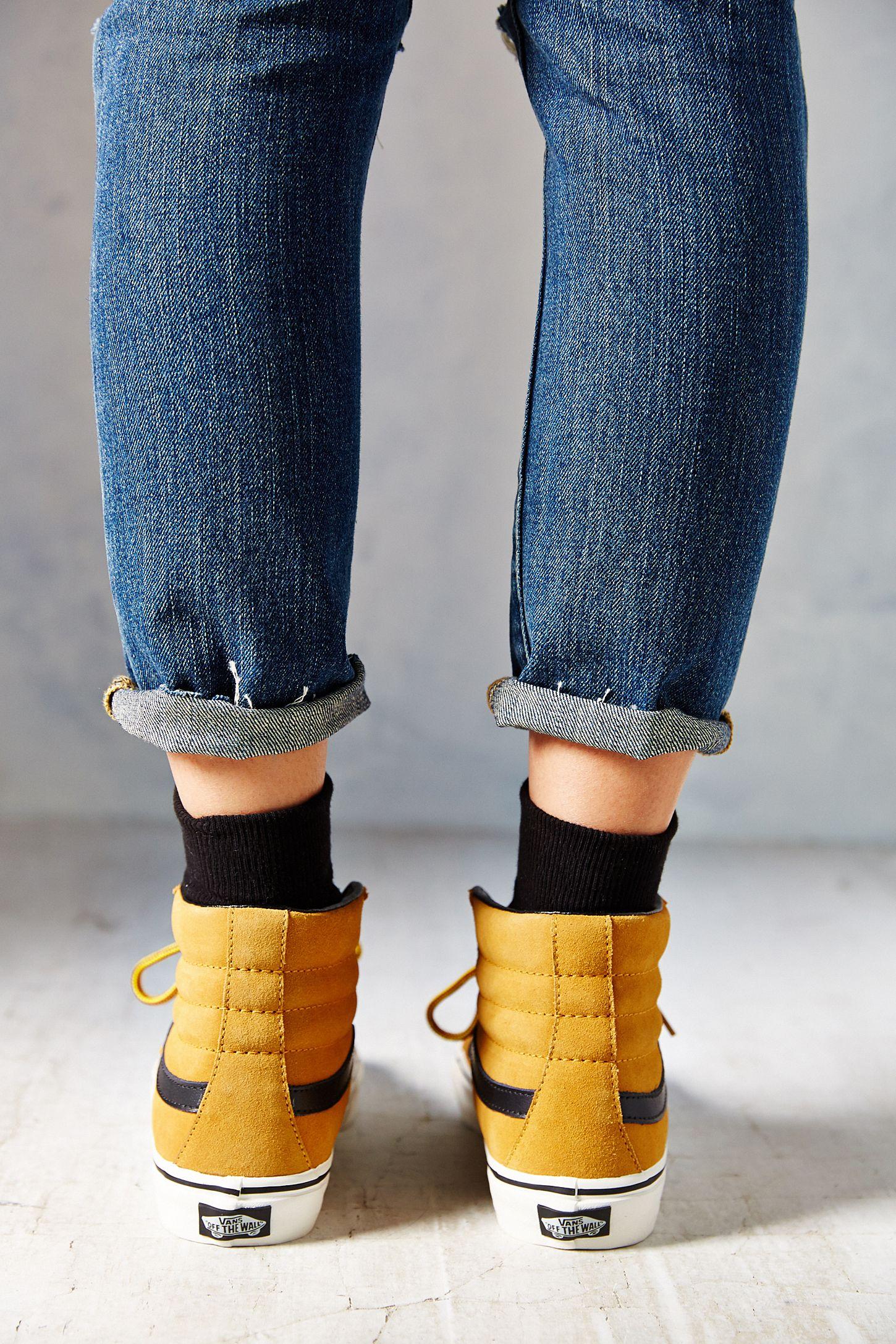 3ad9e3af6c Slide View  6  Vans Sk8-Hi Slim Hiker Women s Sneaker