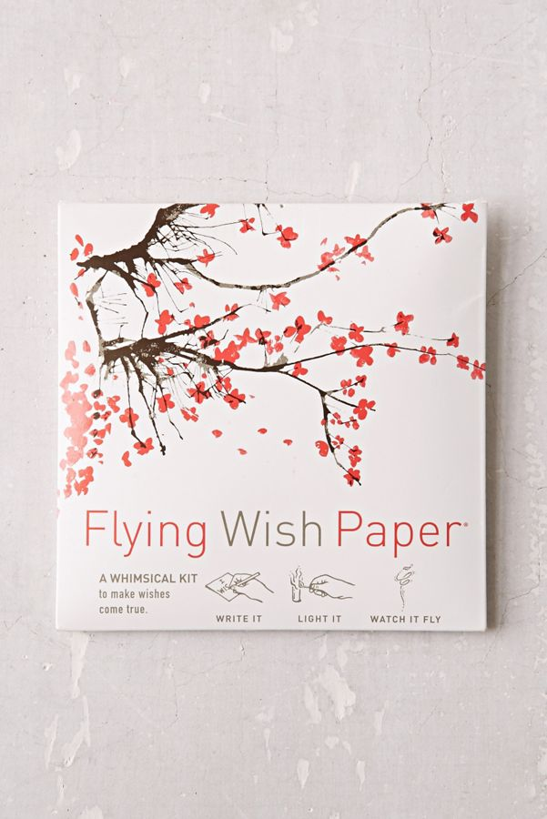 Flying Wish Paper DIY Kit | Urban Outfitters
