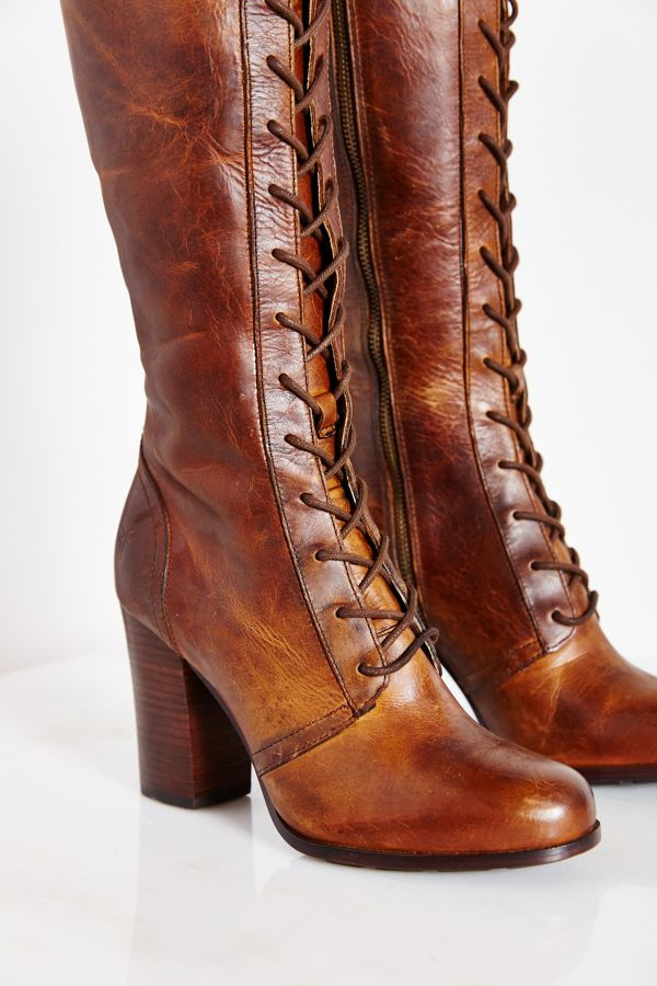 d88537aa093 Frye Parker Lace-Up Tall Boot | Urban Outfitters