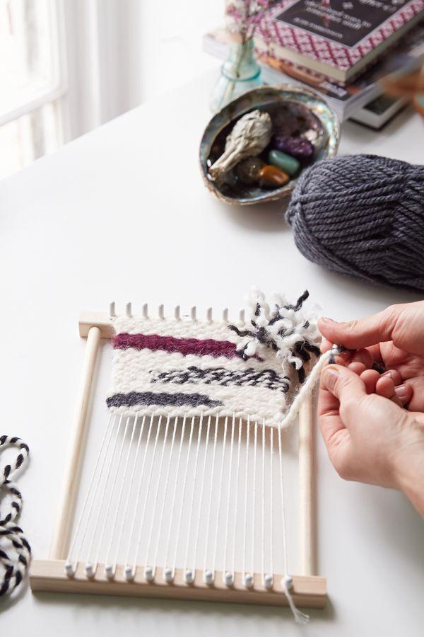 Peg Loom Diy Weaving Kit