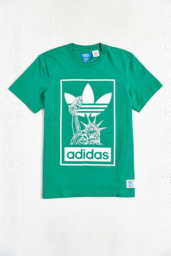 06b6a91f967 adidas Originals X Nigo 25 NYC Tee | Urban Outfitters
