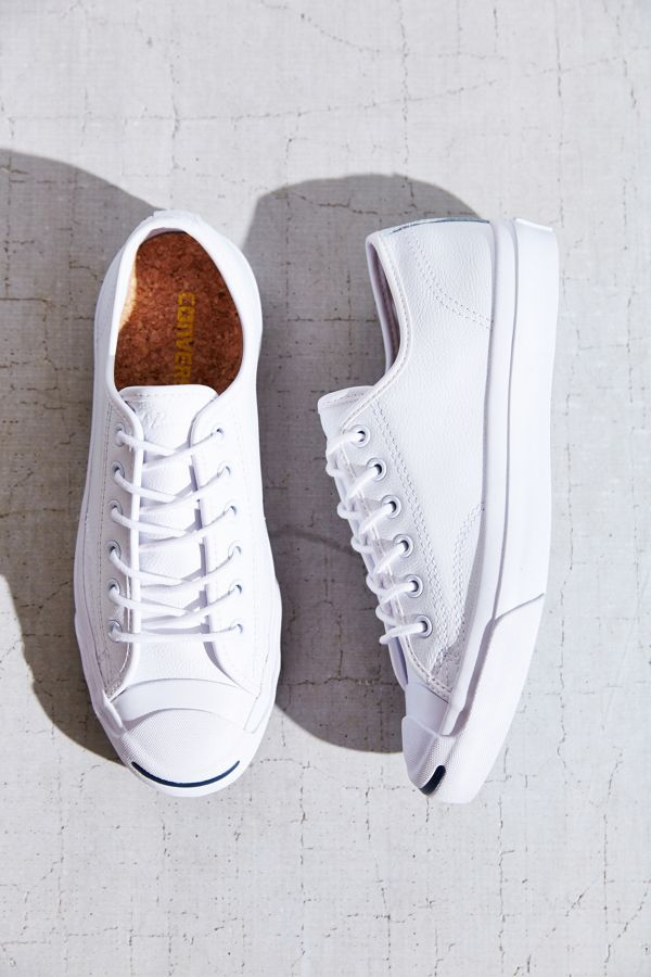 47f0bd820ac15b Slide View  1  Converse Jack Purcell Tumbled Leather Low-Top Sneaker