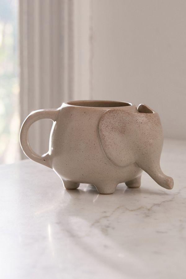 Slide View: 1: Elephant Tea Mug
