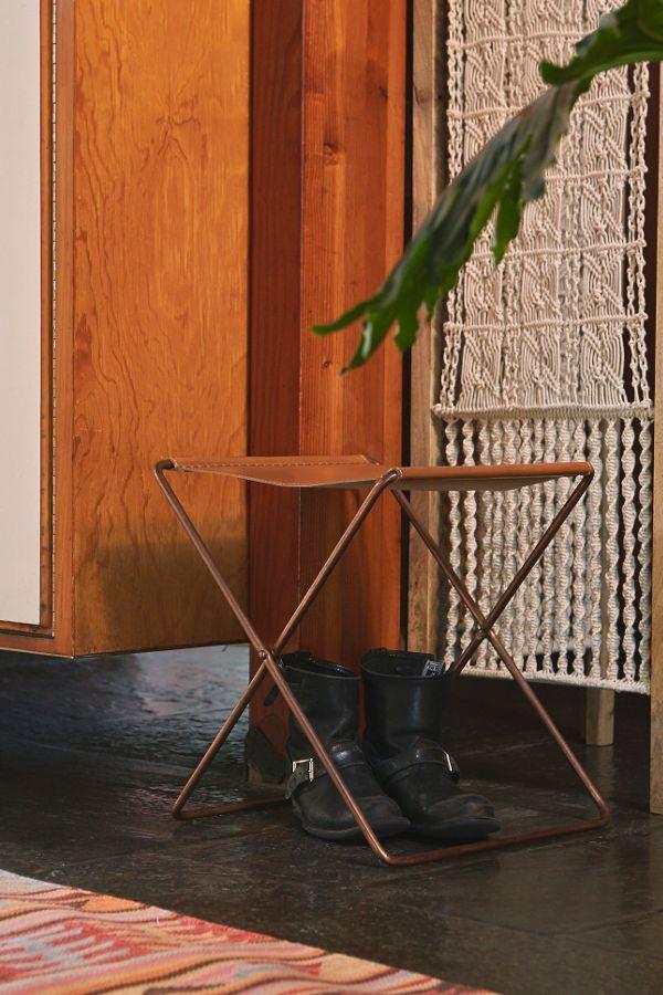 Surprising Leather Sling Stool Cjindustries Chair Design For Home Cjindustriesco