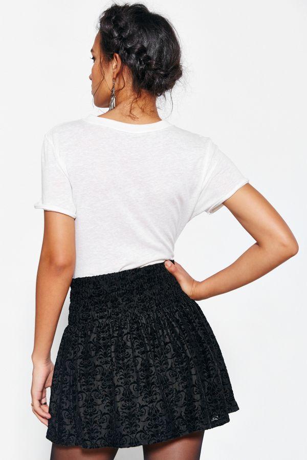 f6221acc19ee Kimchi Blue Cindy Velvet Smock-Waist Mini Skirt | Urban Outfitters