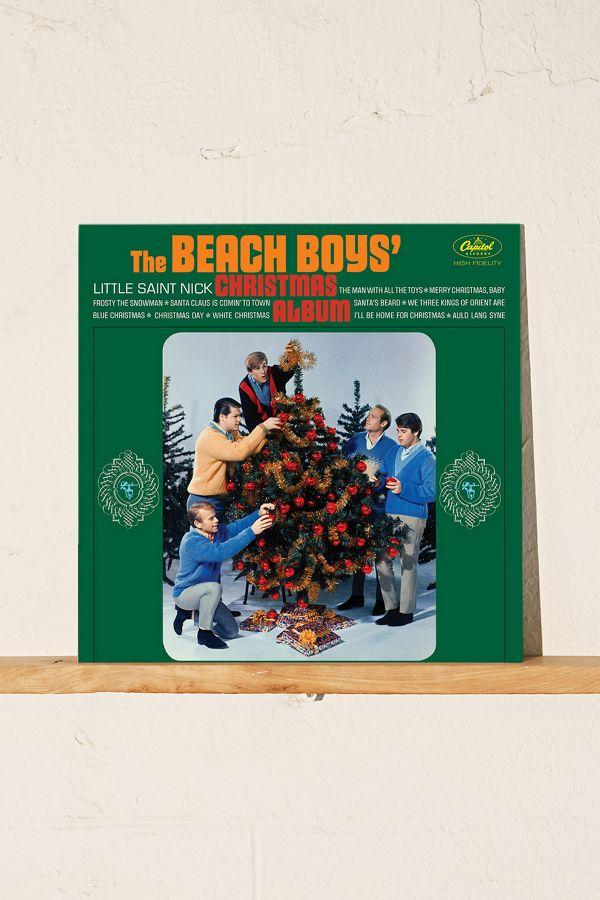 Beach Boys Christmas.Vinyl Record Storage Shelf