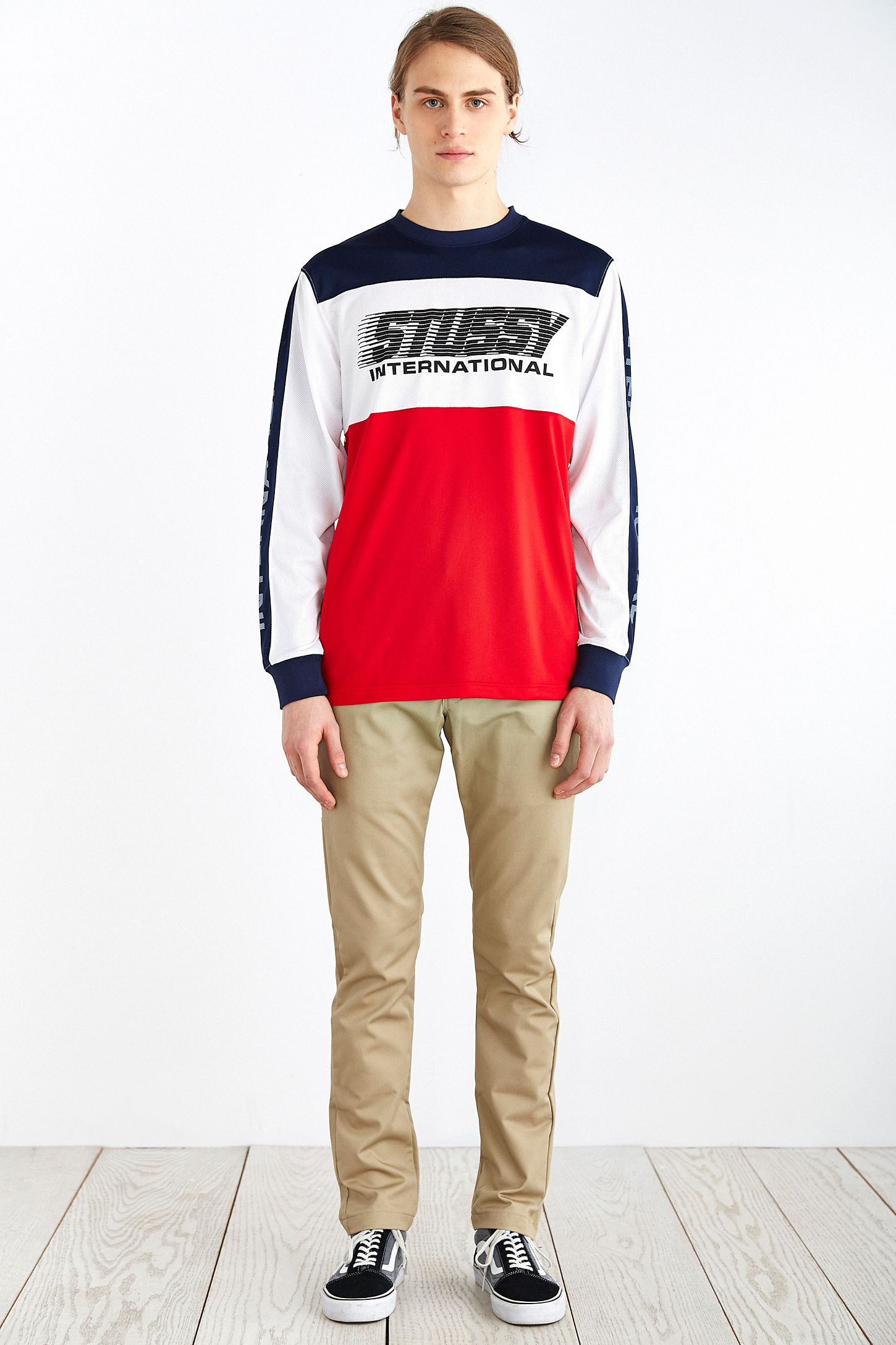 813c526e2 Stussy BMX Long-Sleeve Crew Neck Tee | Urban Outfitters