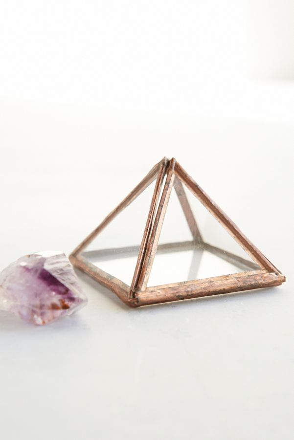 ABJ Glassworks Small Copper Pyramid Box | Urban Outfitters