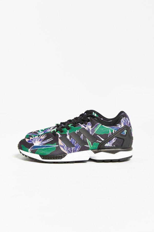 wholesale dealer 609d9 1edf8 adidas Originals ZX Flux Floral Print Sneaker   Urban Outfitters