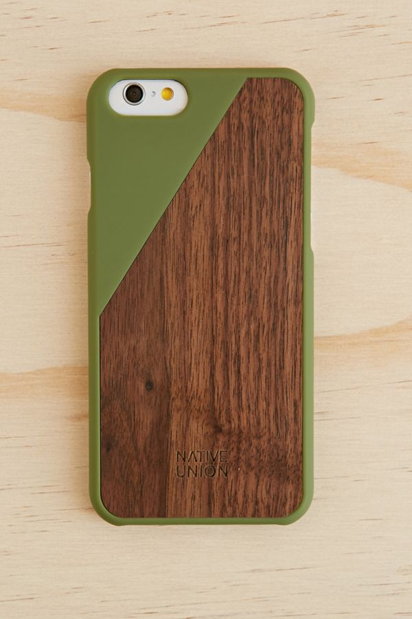 brand new 20628 f6f59 Native Union Clic Wooden iPhone 6/6s Case | Urban Outfitters