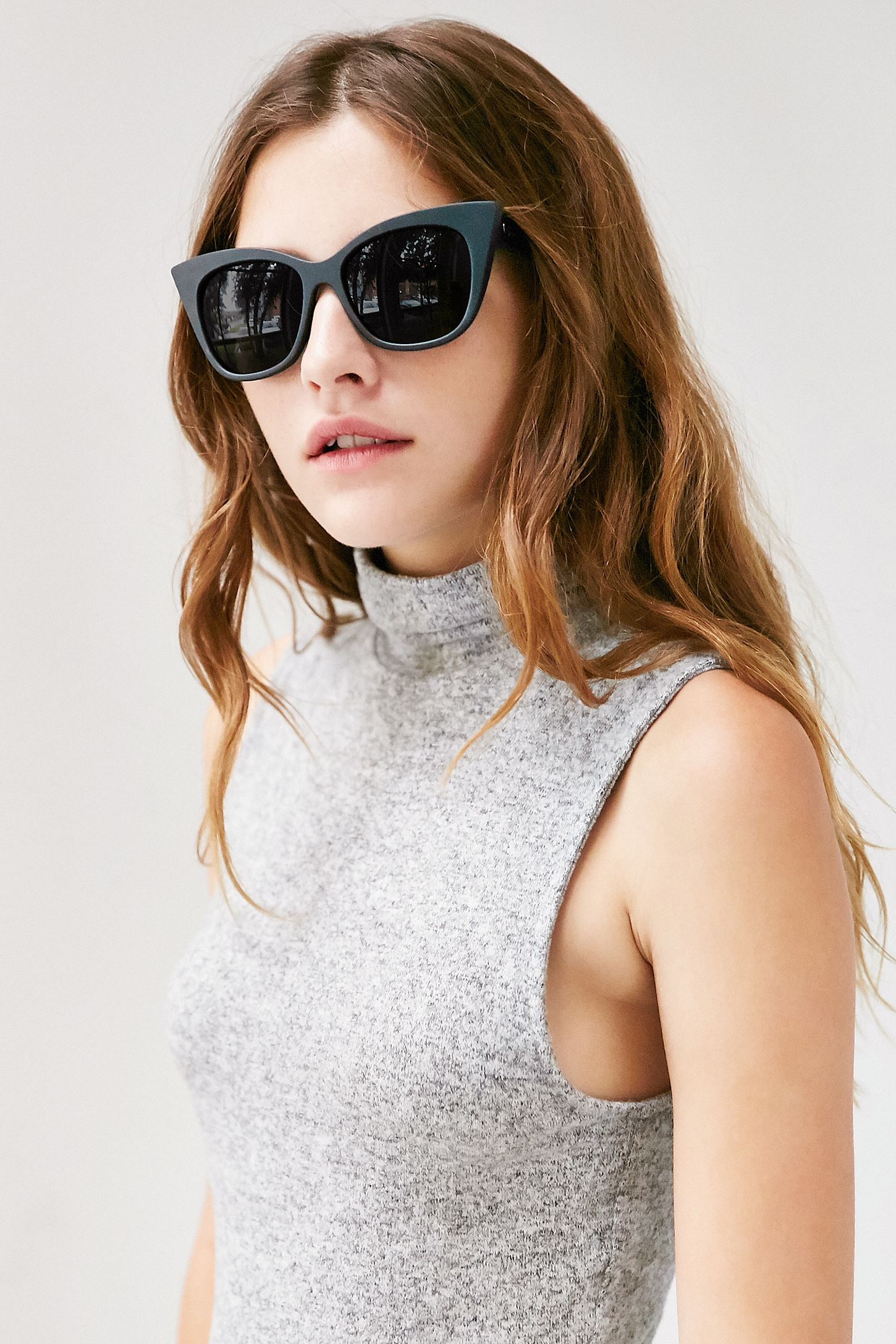 fa96f65db8 Quay Modern Love Cat-Eye Sunglasses. Tap image to zoom. Hover to zoom.  Double Tap to Zoom