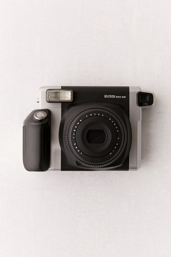Slide View: 1: Fujifilm Instax Wide 300 Instant Camera - Black
