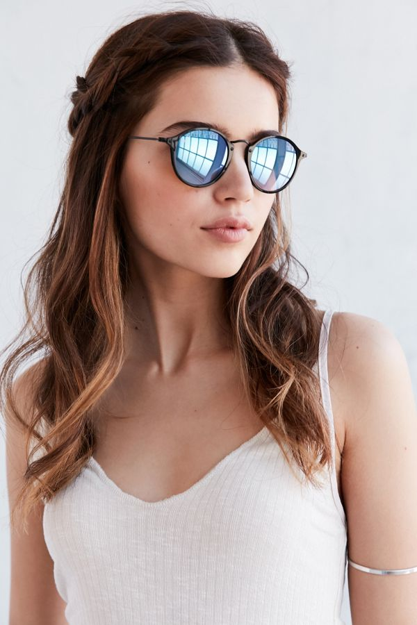 c5bf3e5f4 Ray-Ban Icon Round Sunglasses | Urban Outfitters