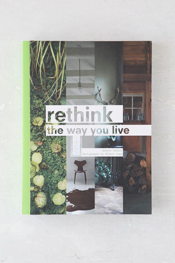 Rethink By Amanda Talbot & Mikkel Vang   Urban Outfitters