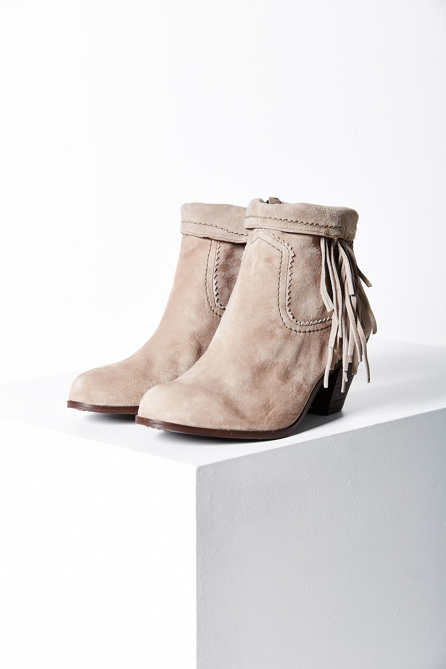 c8df98602 Sam Edelman Louie Fringe Ankle Boot